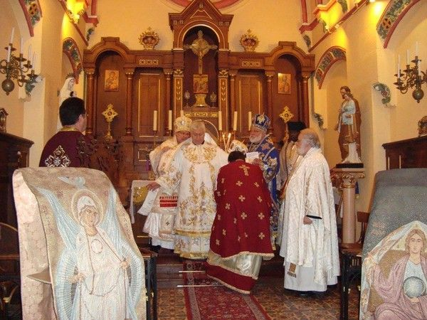 Sacre de Mgr Jean nouvel évêque de Périgueux (E.O.E)